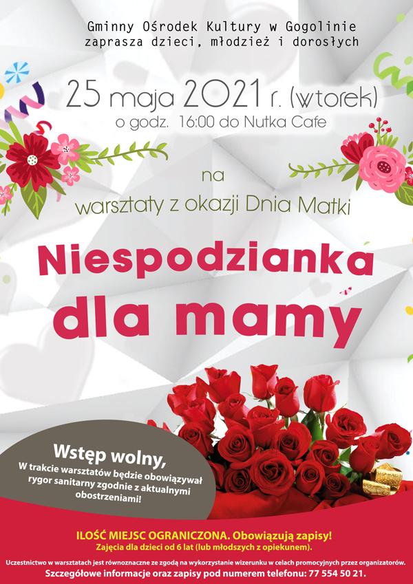 Warsztaty z okazji Dnia Matki